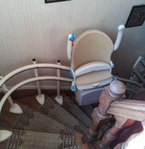 monte escalier handicapé
