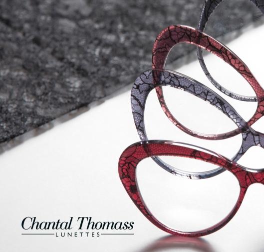 Monture lunettes Chantal Thomass