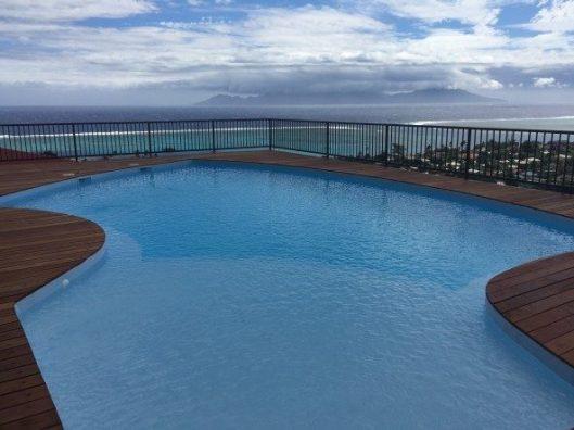 Location appartement Tahiti avec piscine